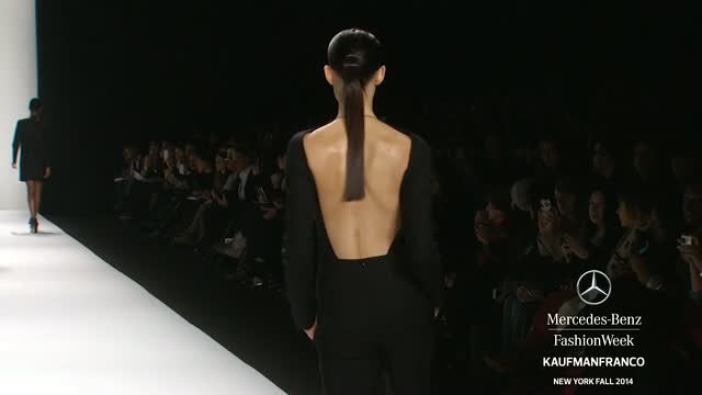 News video: KAUFMANFRANCO: MERCEDES-BENZ FASHION WEEK Fall 2014 COLLECTIONS